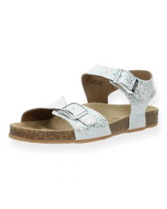 Zilveren sandalen Romina 1