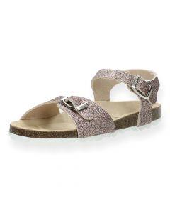 Roze glitter sandalen