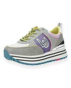 Grijze multicolour sneakers Wonder