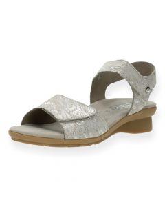 Taupe sandalen Pattie