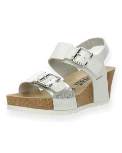 Witte sandalen Lissandra