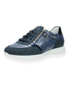 Blauwe sneakers Monia