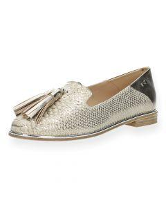 Bronzen loafers