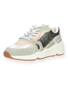 Metallic sneakers Harlow Golden