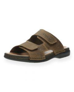 Lichtbruine slippers