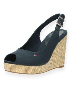 Blauwe sandalen Iconic Elena
