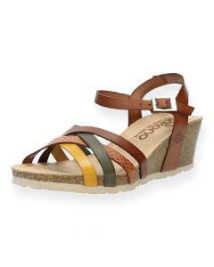 Multicolour sandalen Cadiz