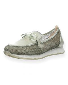 Lichtgroene loafers