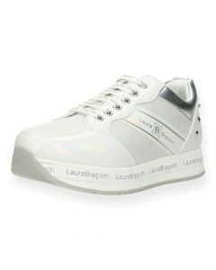 Witte sneakers Silver