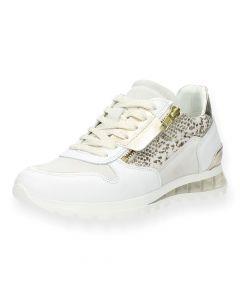 Witte sneakers Snake