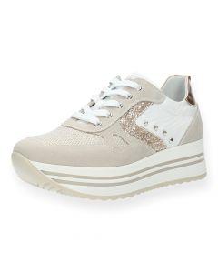 Lichtroze sneakers