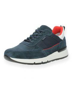 Donkerblauwe sneakers