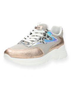 Roze sneakers Leopard