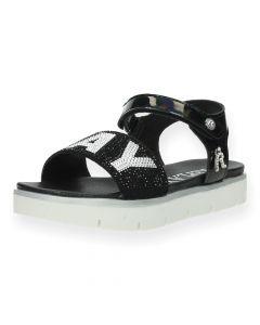 Zwarte sandalen Izumo