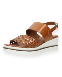 Cognac sandalen Su