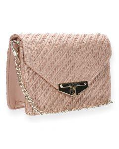 Roze clutch Amanda