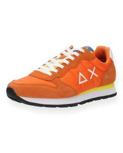 Oranje sneakers Tom Solid