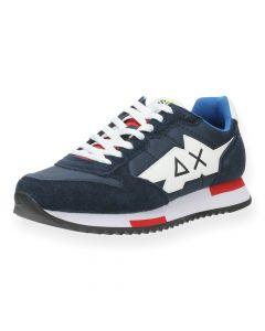 Donkerblauwe sneakers Niki Solid