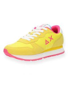 Gele sneakers Ally Solid