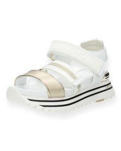 Witte sandalen Wonder