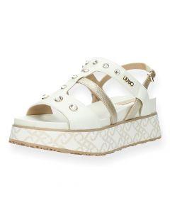 Witte sandalen Frida