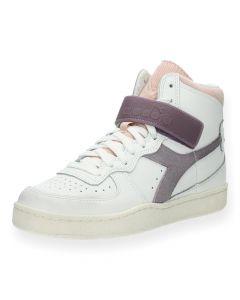 Witte sneakers Mi Basket