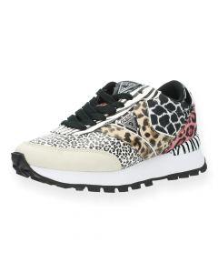 Dierenprint sneakers Samsiin