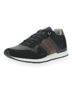 Zwarte sneakers Stellar