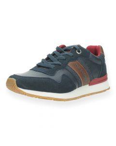 Blauwe sneakers Stellar J