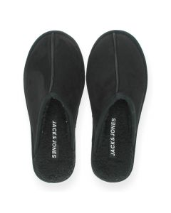 Zwarte pantoffels Dudely