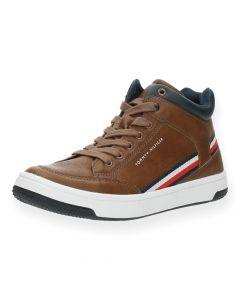 Cognac sneakers High Top