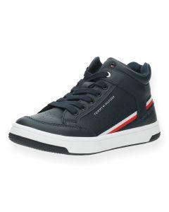 Blauwe sneakers High Top