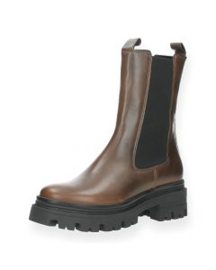 Bruine beatle boots