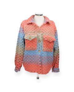 Multicolour jas Coral