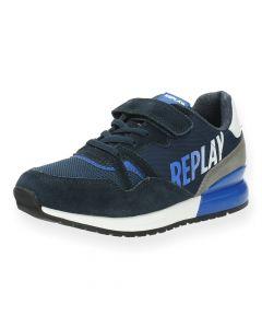 Blauwe sneakers Blazen