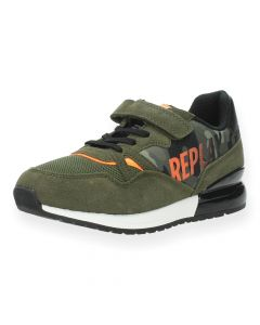 Kaki sneakers Blazen