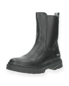 Zwarte boots Pop