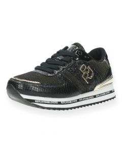 Zwarte sneakers Barbican