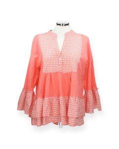 Roze blouse