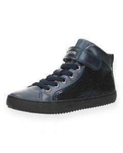 Blauwe sneakers High