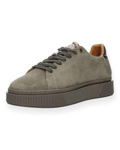 Taupe sneakers Fuga