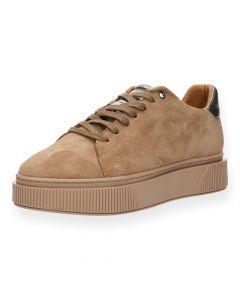 Lichtbruine sneakers Fuga
