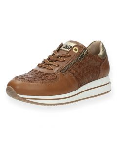 Cognac sneakers Amara