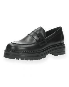 Zwarte loafers Aukje