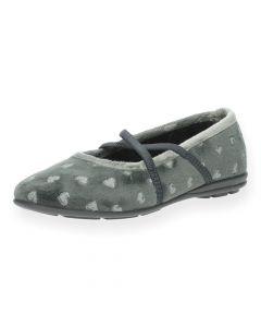 Grijze pantoffels