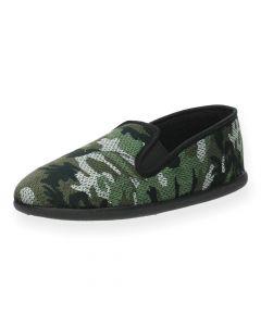 Kaki pantoffels Sentil