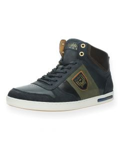 Blauwe sneakers Milito