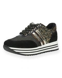 Multicolour sneakers Zwart