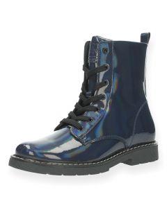 Blauwe bottines Fatima 1
