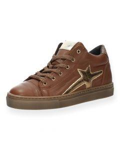 Cognac sneakers Fe 1A